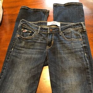 Hollister size 5R straight leg jeans